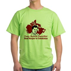 Beautify Canada Green T-Shirt