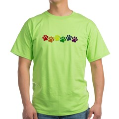 Family Pet Green T-Shirt