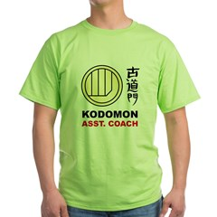 Kodomon Polo Shirt - Dojo Coach Green T-Shirt