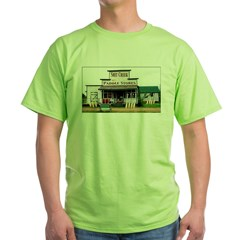 Shit's Creek Paddle Store Green T-Shirt