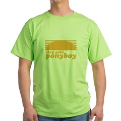 """Stay Gold Ponyboy"" [The Outs Green T-Shirt"