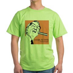 Tommy Douglas Green T-Shirt