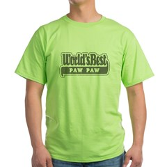 WB Grandpa [Cajun] Green T-Shirt
