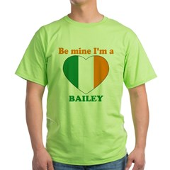 Bailey, Valentine's Day Green T-Shirt