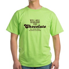 Chocolate Green T-Shirt