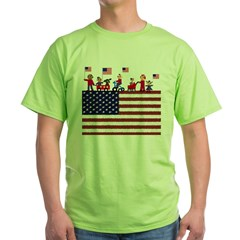July 4th Green T-Shirt