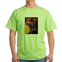 Drum Ki Green T-Shirt