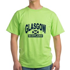 Glasgow Scotland Green T-Shirt