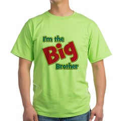 T I'm the Big Brother Green T-Shirt