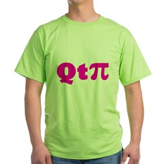 q-t-pie3 Green T-Shirt