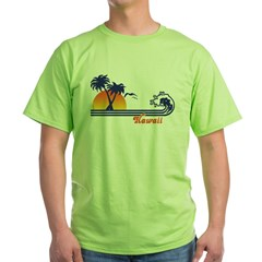 Hawaii Green T-Shirt