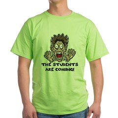 Funny Teacher Gifts Green T-Shirt