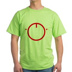 Peace2-BLK Green T-Shirt