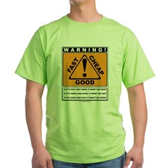 Pricing Triangle Green T-Shirt