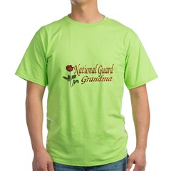 national guard grandma Green T-Shirt