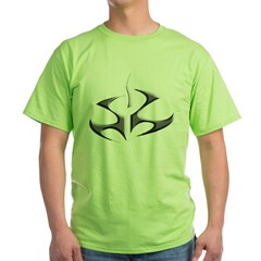 hitman logo shirt Green T-Shirt