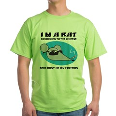 I'M A Rat Green T-Shirt
