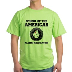 school of the americas Green T-Shirt