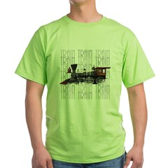 Train Lover Green T-Shirt