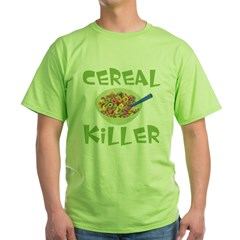 Cereal Killer Green T-Shirt