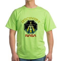 STS-121 NASA Green T-Shirt