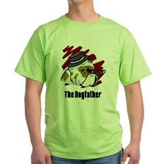 The Dogfather Green T-Shirt