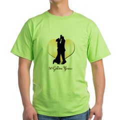 50 Golden Years Green T-Shirt