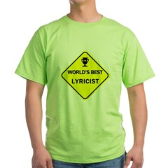 Lyricist Green T-Shirt