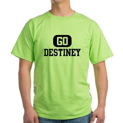 Go DESTINEY Green T-Shirt