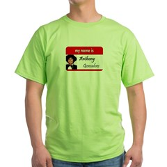 Anthony Gonsalves Green T-Shirt