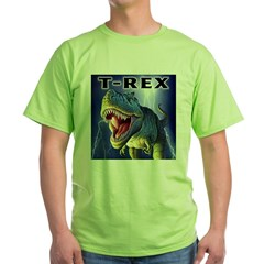 T-Rex 3 Green T-Shirt