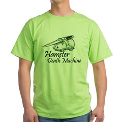 hamster death machine WEB.psd Green T-Shirt