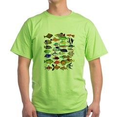 Tropical Fish ~ Green T-Shirt