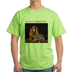 Irish Setter Stud - Green T-Shirt
