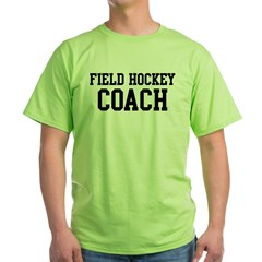 FIELD HOCKEY Coach Green T-Shirt