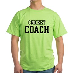 CRICKET Coach Green T-Shirt