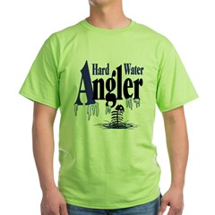 Hard Water Angler Green T-Shirt