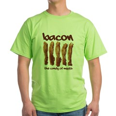 Candy of Meats Green T-Shirt