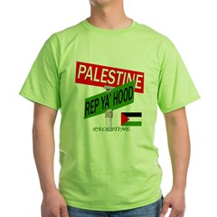 REP PALESTINE Green T-Shirt