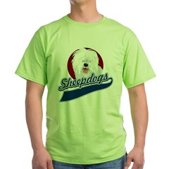 Sheepdogs Green T-Shirt