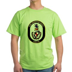 USS Gunston Hall LSD 44 Ash Grey Green T-Shirt