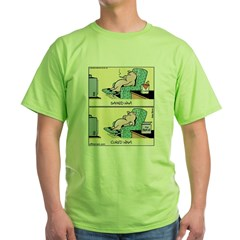 Smoked and Cured Ham Green T-Shirt