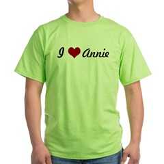 I love Annie Green T-Shirt