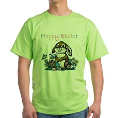 Easter Rabbi Green T-Shirt