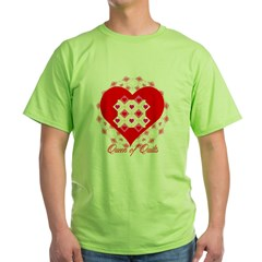 Queen of Quilts- Green T-Shirt