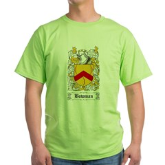 Bowman I [English] Green T-Shirt