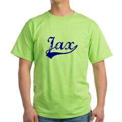 Vintage Jax (Blue) Green T-Shirt