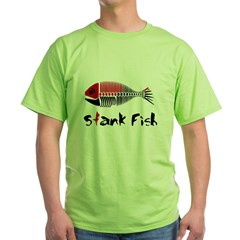 Stank Fish Green T-Shirt