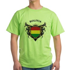 Bolivia Green T-Shirt
