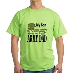 Army Son Serves Green T-Shirt